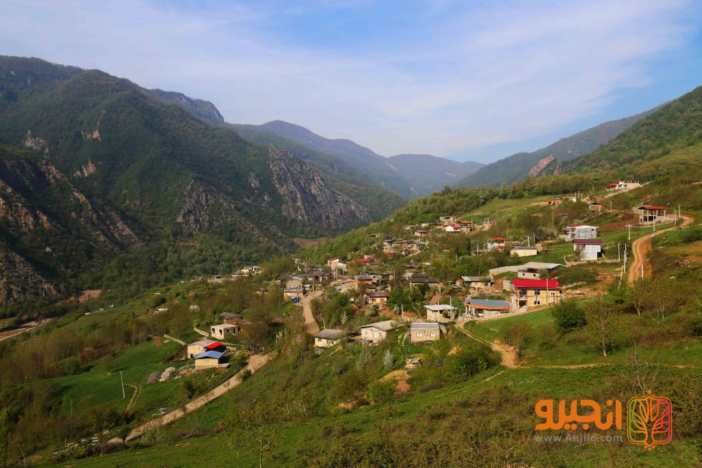 روستای سیاه رودبار در دل جنگل های هیرکانی